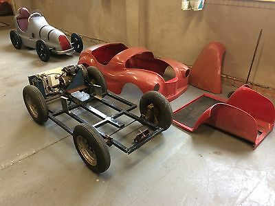 Austin J40 Pedal Car With  Electric Motor ,  Project,   J 40