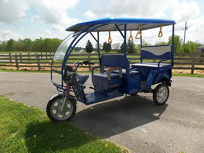 Annie's Electric Rickshaw 2016 Near New 48Volt All Electric!