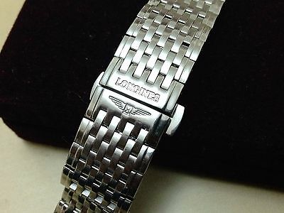 Longines 20mm Stainless Steel Watch strap bracelet for various models