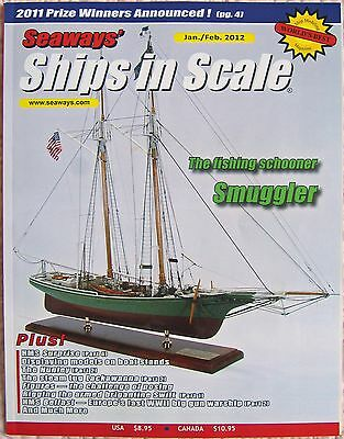 Save on Lot of 6 Seaways' Ships in Scale 2012 Model Ship Builder Mags