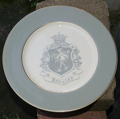 1964 KNIGHTS of BABYLON NEW ORLEANS MARDI GRAS KREWE BALL FAVOR VINTAGE PLATE
