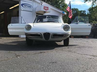 1967 Alfa Romeo Spider Duetto Spider 1967 Alfa Romeo Spider Duetto UNRESTORED !!!