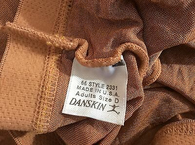 Daskin Ballet Tights style 2331 size B NWOT color toast