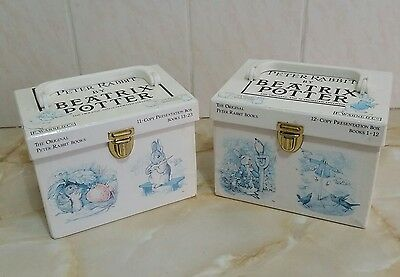 Vintage ~ The World of Peter Rabbit 2 Box Set Collection 23 Books Beatrix Potter