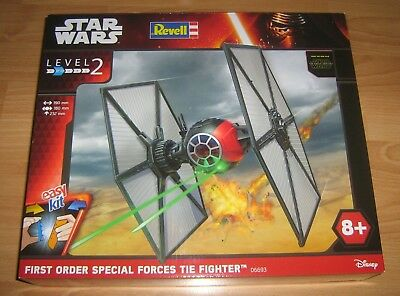 Revell star wars easykit first order special tiefighter(06693) ovp