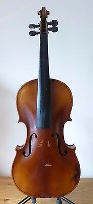 OLD VIOLIN 4/4 from  RESTORER'S STUDIO ESTATE STASH  203  - cello viola