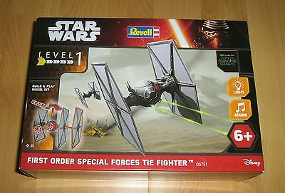Revell star wars first order special tie fighter build&play (6751)