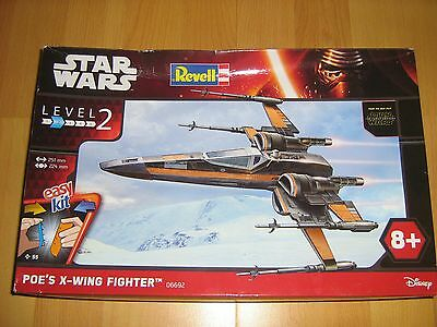 Revell star wars easy kit poe's x-wing fighter(6692) ovp