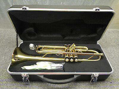Palatino Bb Brass Trumpet WI-815-TP With Hard Shell Case