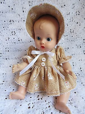 """3 Piece Dress Set For 8"""" Vogue Ginette Baby Doll"""