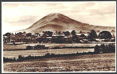 """RPPC with view of """" The Wrekin from Eaton Constantine """" Shropshire UK circa 1936"""