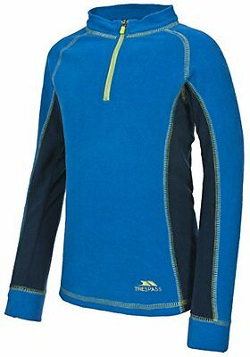 Trespass per bambini bolle base Layer, Bambino, Bubbles, Electric Blue X (n3F)