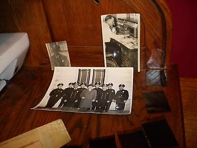 Lot Of 3 Original Vintage Police Detective B&w Photos Photographs + Negatives
