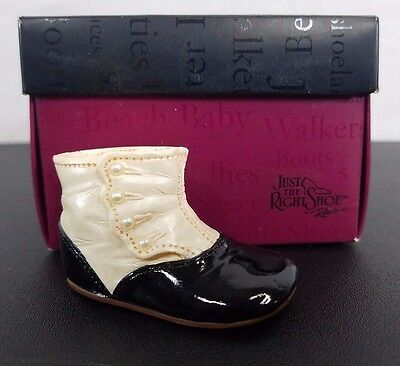 Raine Drops Just the Right Shoe 2001 Item #25130 High-Button Baby Kid Victorian