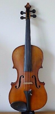 OLD  VIOLA  4/4 from  RESTORER'S STUDIO ESTATE STASH  213  - cello viola