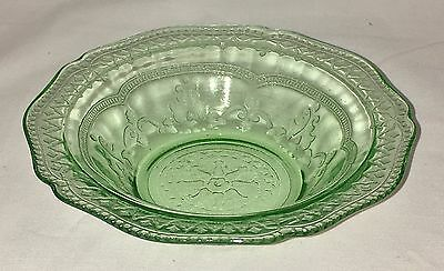 "Federal PATRICIAN GREEN *5"" BERRY BOWL*"