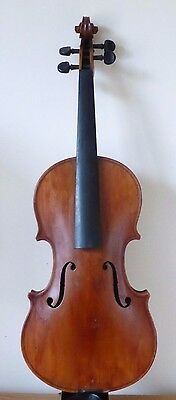 OLD  VIOLIN 4/4 from  RESTORER'S STUDIO ESTATE STASH  214  - cello viola