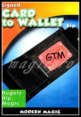 Card to Wallet Bayer Type Magic Trick