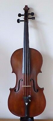 ANTIQUE VIOLIN 4/4 - TOP PLATE RESTORE RESTORER'S STUDIO ESTATE 18 - cello viola