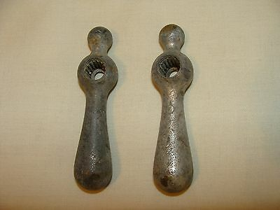 Vintage Pair Of Hot And Cold Water Faucet Handles