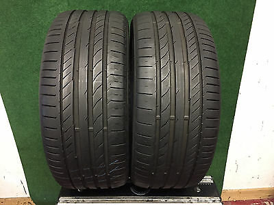 235 40 18  Continental Conti Sport Contact 5     Tyres  6 Mm+   X2  95W Xl