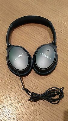 Bose QuietComfort 25 QC25 Noise Cancelling Over-Ear Headphones - Black
