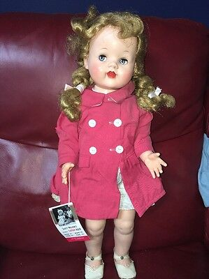 Vintage Ideal SAUCY WALKER Doll All Original With Wrist Tag