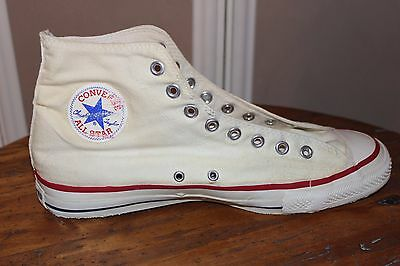 Vintage 1970s Converse Chuck Taylor All-Star shoes Made in USA Size 11