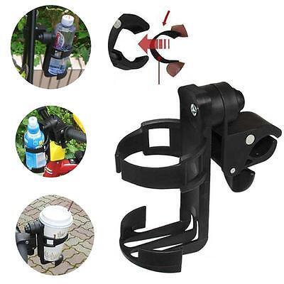 Baby Stroller Pushchair Milk Bottle Stand Holder Adult Bicycle Rotating