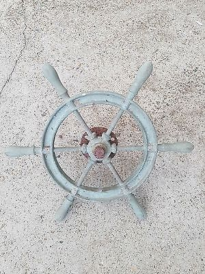 1950's Bronze Maritime Ship Wheel