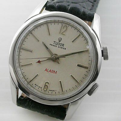 Vintage Tudor Oyster Prince White Dial Automatic  Watch For Men