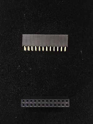 Ssw-112-01-G-D, Samtec,socket, 2.54Mm, 2X12 Position, X 10 Pcs.
