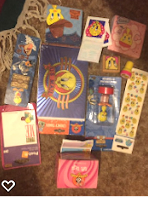 Tweety Bird Post It Notes, Stickers, Stampers, Pencil, Bookmark, Note Cards And