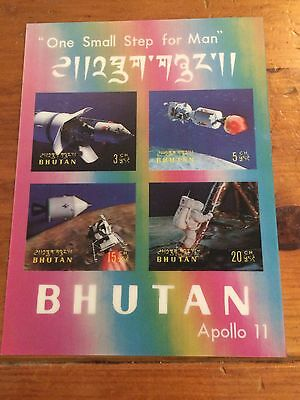 Bhutan Apollo 11 Hologram Stamp