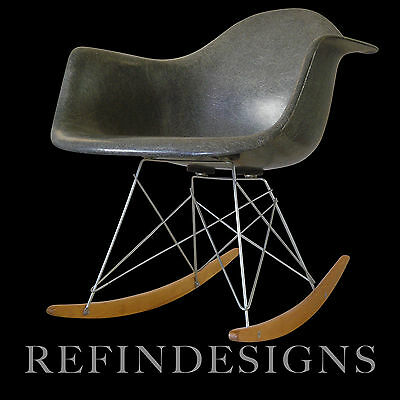 Charles Eames Zenith Herman Miller Prototype Production Rocker Rocking Chair '49