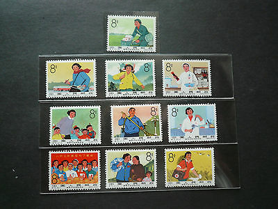 CHINA (PRC) S75 sets ,  MNH