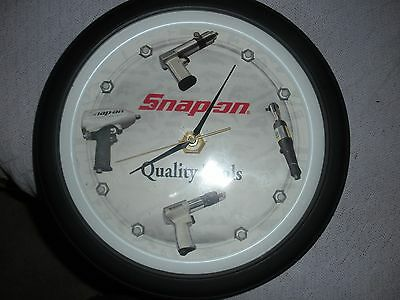 Snap on clock Snap-On Tools Collectible Vintage , Makes Air Tool Sounds.