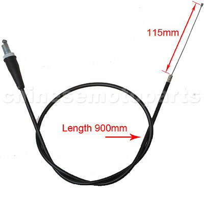 90 cm Throttle Cable Gasseil Gaszug für 50cc-125cc Dirt Bike ATV QUAD