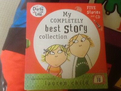 Charlie and Lola best story collection box set of 5 books good condition