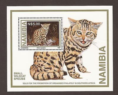 Zimbabwe & Namibia Miniature Sheets x 2. (MNH) Rotary club & Wild cat