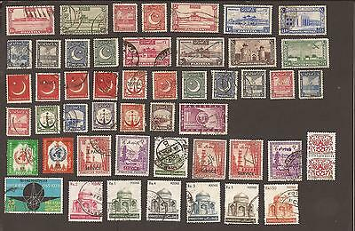 Pakistan. Misc selection from old albums.What you see is what you get! Unchecked