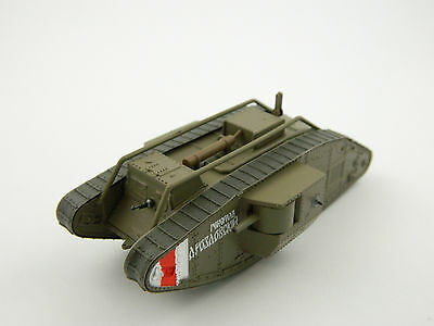 Mark V, Russia, 1:72nd scale diecast Tank №100 u by Fabbri