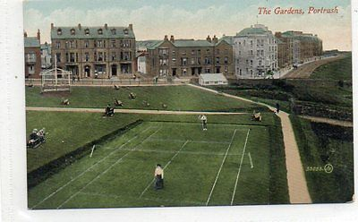"""""postcard The Gardens,portrush,co.antrim,ireland"""""
