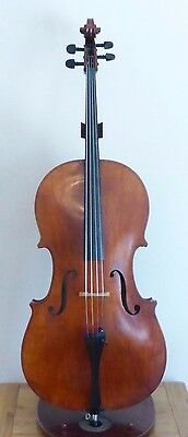 ANTIQUE VIOLIN 4/4 - TOP PLATE RESTORE RESTORER'S STUDIO ESTATE 23 - cello viola