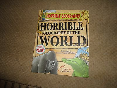 Horrible Geography of the World BRAND NEW BOOK by Anita Ganeri (Paperback, 2010)