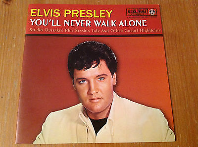 Elvis Presley cd - You'll never walk alone - AWESOME AND MEGA RARE CD!