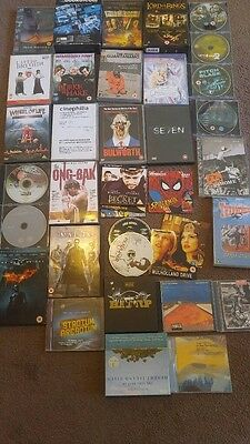 Carboot job lot of USED DVDs and CDs