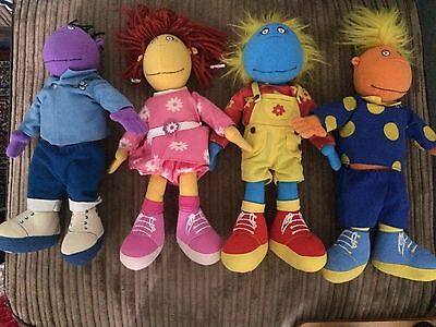"ALL 4 TWEENIES CHARACTERS,BELLA,   MILO,   FIZZ,   JAKE .  12"" Up"
