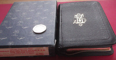 Vintage Collins Prayer Book In Box With Gilt Edge Pages, Zipped