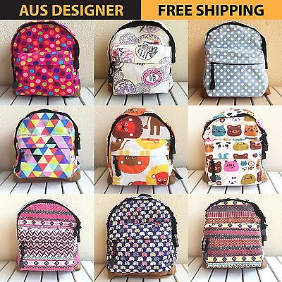 Decowave Style Fashion Mini Baby Kid Infant Toddler Backpack School Bag